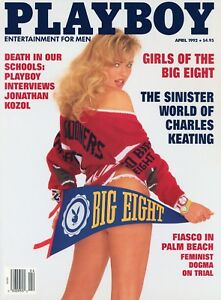 PLAYBOY APRIL 1992 Cady Cantrell Wendy Kaye Jonathan Kozol Bobcat Goldthwait RCV