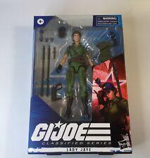 """GI Joe Lady Jaye #25 Classified Series 6"""" Action Figure 2021 Hasbro"""