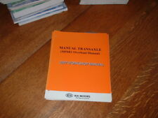 MANUALE ORIGINALE KIA M5SR1 Transaxle Workshop Manuale. 2007