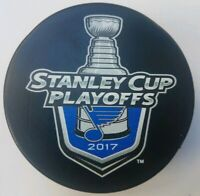 2017 STANLEY CUP ST. LOUIS BLUES NHL INGLASCO OFFICIAL HOCKEY PUCK SLOVAKIA