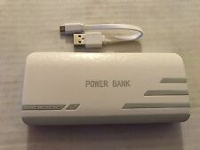 Portable External Battery Power Bank 3 USB LED Light 6000mAh with Micro USB