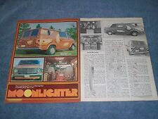 "1975 Chevy Van Vintage Custom Article ""Moonlighter"""