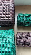 20mm / 50mm Green / Brown Plastic Garden PVC Mesh Wire Fencing 5m 10m 20m