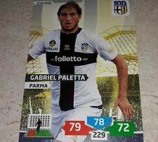 CARD ADRENALYN 2013/14 CALCIATORI PANINI PARMA PALETTA CALCIO FOOTBALL