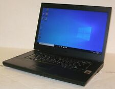 "Dell Latitude E6510 15.6"" i7 Q720 Quad-Core 8GB 500GB Backlit NVIDIA WIFI Win 10"