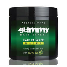 Gummy Professional Hair Relaxer Super - Olive Oil for Dry Resistant Hair 550ml