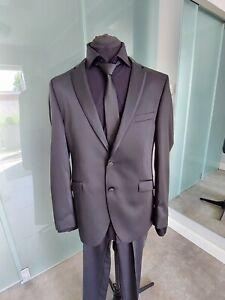 Hochzeitsanzug Gr. 52 schwarz NEU zvk.