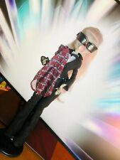 Rare Used Lady Gaga Monster High Doll ZombyGa