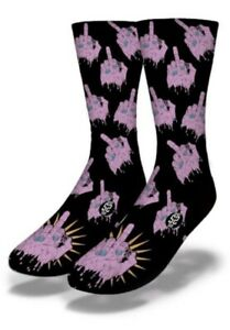 #239 Middle Finger Zombie Brand New With Tags From Production Line Savvy Socks