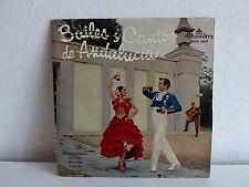 Bailes y cantos de Andalucia FANDAGOS DE HUELVA SOLEARES SEVILLANAS EMGE70107