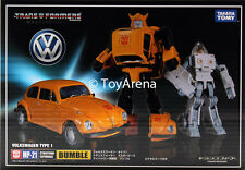 Transformers Masterpiece MP-21 Bumblebee Volkswagen Beetle Takara IN-STOCK USA