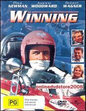 WINNING (Paul NEWMAN, Robert WAGNER) Indy 500 Racing ACTION Film DVD NEW Reg 4