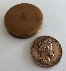 Medal Bronze 1839 Louis philippe 1 King French REF64881