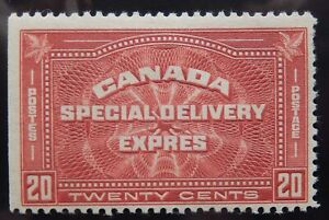 Canada Scott #E4, Mint Original Gum (HR)