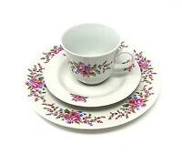 Kaffee Service Set I Ilmenau Graf von Kenneberg I Tasse Teller Kuchen I DDR