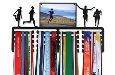 BIG Medal Hanger /RUNNING/ with a picture frame! Made in Europe.