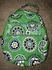Vera Bradley Cupcake Green Pattern Lunch Bag