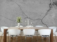Cement Wall Photo Wallpaper Wall Mural DECOR Paper Poster Free Paste