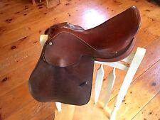 "16.5"" E. Jeffries Huntsman Saddle Traditional Hunt Saddle Hand Made in England"