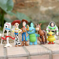 7pcs Toy Story 4 Woody Lightyear Rex Alien Bear Action Figure Toys Decoration