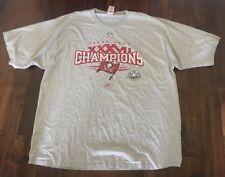 Mens XXL Tampa Bay Buccaneers Reebok Super Bowl Tshirt Gray