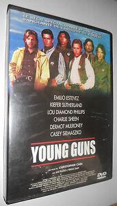 """dvd """"young guns"""" (Estevez / Sutherland / Sheen...)"""