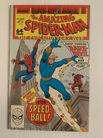 AMAZING SPIDER-MAN Annual # 22 1st appearance Speedball 9.2 NM-