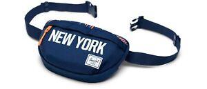 Herschel New York Knicks City Edition Settlement Backpack & HIP PACK Blue Orange