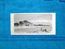 Gravure Année 1863 - Djebel-Chertan, Kordofan (Soudan - Sudan)