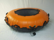 """New 44"""" Heavy Duty Commercial snow tube, 12 handles MADE IN USA. ORANGE"""
