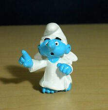 Smurfs 20212 Little Angel Smurf Rare Light Skin Vintage Figure Toy PVC Hong Kong