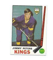 1969-70 OPC #143 KINGS JIMMY PETERS NRMT-MT ROOKIE CARD