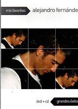 Alejandro Fernandez Mis Favoritas  1 DVD +1 CD  Grandes Exitos BRAND NEW SEALED