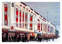 Beautiful Football Art Print - Highbury, Arsenal
