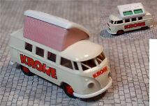 Brekina 31511 VW Bus T1 Cirus Krone Zirkus Campingdach Westfalia Dormdach Samba