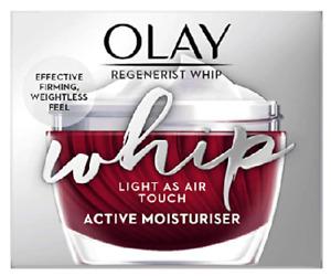 Olay Regenerist Whip Light as Air Touch Active Moisturiser 50ml - New & Boxed