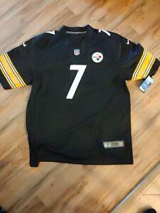 NFL Pittsburgh Steelers Ben Roethlisberger Nike On Field Mens Jersey- Size 2xl