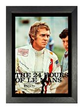 Steve Mcqueen American Actor Photo The King of Cool Movie Film Man Star Poster