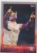 2015 TOPPS WWE SIN CARA SILVER PARALLEL WRESTLING CARD #72
