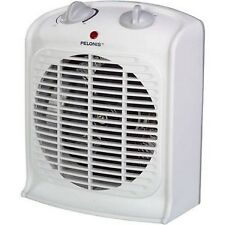 Pelonis Electric Heater Thermostat Fan Portable Air Heat Automatic Turn Off