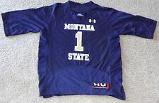 MONTANA STATE BOBCATS LADIES NCAA FOOTBALL JERSEY #12 LADIES MEDIUM OR X-LARGE