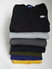 Vintage Nike Small Swoosh Tick Logo Crew Neck Sweatshirt