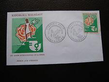 MADAGASCAR - enveloppe 1er jour 21/1/1975 (cy79)