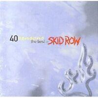 SKID ROW - FORTY SEASONS-BEST OF CD ROCK 16 TRACKS NEU