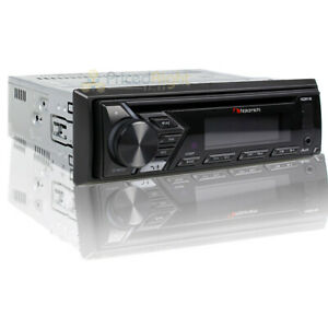 Nakamichi Single DIN Car Stereo Receiver CD MP3 USB AUX Input Bluetooth NQ811B