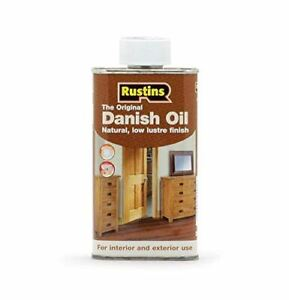 RUSTINS DANISH OIL 250ML