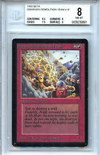 MTG Beta Dwarven Demolition Team WOTC BGS 8.0 (8) NM/MT Card  0891