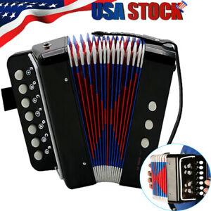 Mini Accordion Beginners Musical Instrument Children Accordion Band Toy R3R0