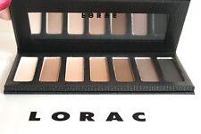 NIB Lorac Skinny Black Case 7 Shades Eyeshadow Palette