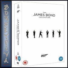 JAMES BOND - 23 FILM COLLECTION  *BRAND NEW DVD BOXSET***